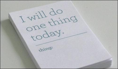 Только 1 дело в день